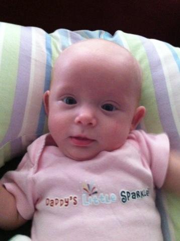 Daddy's little sparkler